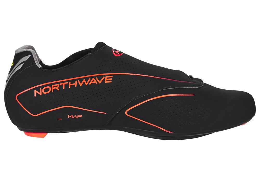 Giro Black And Orange Cycling Shoes
